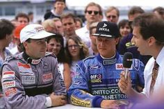 Frentzen and Schumacher