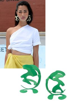 11 chic earrings you need right now: Sculpture Garden; A true work of art that you can wear.