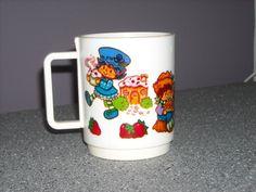 Vintage 1980's Strawberry Shortcake & Friends Cup, $13.50