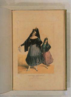 Costumes historiques de ville ou de théâtre et travestissemens - Historical Costumes of Town or Theater and Fancy Dress - Achille Devéria - Page 88