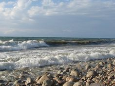 Озеро Иссык-Куль южный берег / Lake Issyk-Kul South coast
