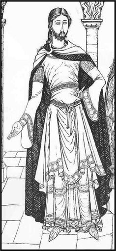 byzantine clothes for men pictures | Exam One- Byzantine and Middle Ages