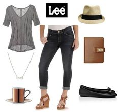 Laid-Back Luxe, featuring Gold Label Ozzy Vintage Slim Capri