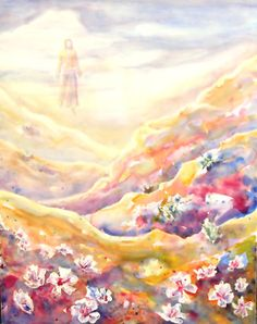 prophetic painting, art by Carol May