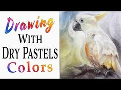 Drawing With Dry Pastels Colors with fine artist Sajida Hussain at Art Classes Islamabad - YouTube