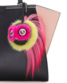 970a91b81fb1 Fendi Bird Mohawk Monster Charm Fendi Bag Charm