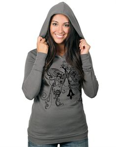 New Creation Hooded Thermal Christian Clothing, Hoods, Stylish, My Style, Long Sleeve, Sweaters, Shopping, Clothes, Street