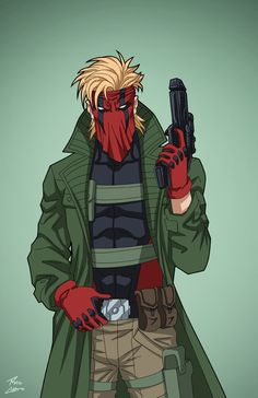 Grifter (Earth-27) commission by phil-cho on DeviantArt