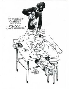 Ben Radis #JeSuisCharlie #CharlieHebdo