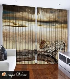 Living Room Curtain Set 3D Whimsical Tailored Made Classy NEW 108 X 90 2533 3DDesigns