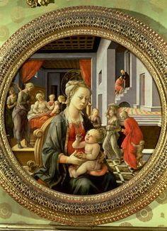 filippo lippi madonna and child - Google Search