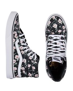 Vans Sk8-Hi Slim Vintage Floral Shoes Visit www.TheLaFashion.com for more Fashion insights and tips.