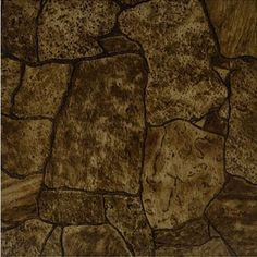 Rustic Stone Vinyl Tile 40 Pc Adhesive Kitchen Flooring - Actual x for sale online Vinyl Tile Adhesive, Vinyl Tiles, Stone Flooring, Kitchen Flooring, Flooring Ideas, Stone Rug, Vinyl Flooring Installation, Vinyl Blinds, Peel And Stick Tile