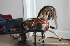 toy horse after restoration Antique Rocking Horse, Rocking Horse Toy, European American, Wooden Horse, Horse Carriage, Virtual Museum, Equine Art, Antique Toys, Equestrian