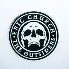 Eric Church- The Outsiders Sticker