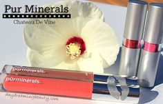 Pur Minerals Chateau De Vine Lipstick and Gloss - daydreaming beauty @purminerals