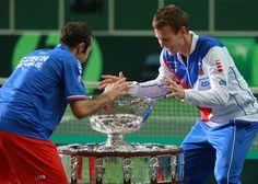 Radek Štěpánek and Tomáš Berdych - Davis Cup 2012