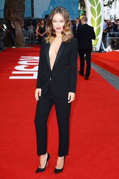 Suit up! Olivia Wilde showed you how to.