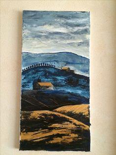 Tuscany abstract painting Tuscany, My Arts, Abstract, Drawings, Painting, Summary, Painting Art, Tuscany Italy, Sketches