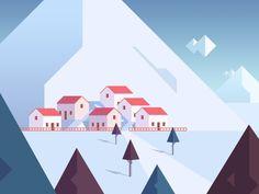 Illustration / Village