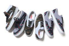 Supreme x COMME des GARCONS SHIRT x Vans 2013 Collection