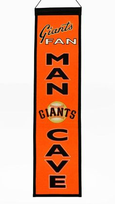 These uniquely shaped banners are the ultimate Man Cave Collectible! Our Man Cave Banner designs feature the teams logo and many include their word mark. Each banner is constructed with applique and e