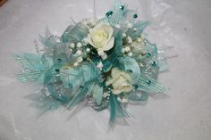 Prom Wrist Corsage made by: Gallery Florist and Gifts, Inc.  919-304-2222 www.galleryfloristandgifts.com