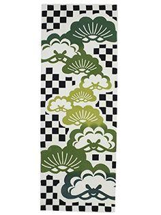 Mastu Ichimatsu pattern Tenugui