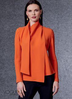 Pants Pattern, Top Pattern, Sewing Magazines, Latest Fashion Dresses, Vogue Sewing Patterns, Fashion Line, Knit Skirt, Colorblock Dress, Blouse Patterns