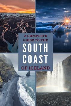 A Handy Guide for the South Coast of Iceland! So much useful information!