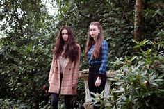 Mandeville Sisters in Woods wearing Miss Patina Clothing