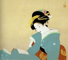 Artist: Shoen Uemura (1875-1949) #japanese #art