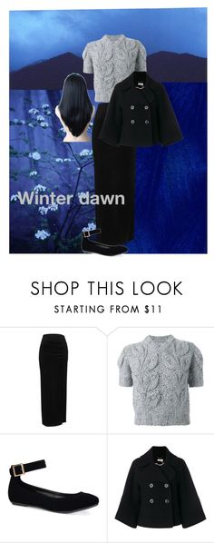 """""""Winter dawn"""" by daisy-giselle on Polyvore featuring River Island, Maison Margiela, Bamboo and Chloé"""