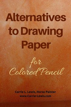 Color Pencil Drawing Tutorial Alternatives to Drawing Paper for Colored Pencil - Are there alternatives to drawing paper that can be used with colored pencil? The short answer is yes and here are a few you might consider. Colored Pencil Artwork, Pencil Painting, Coloured Pencils, Color Pencil Art, Watercolor Pencils, Encaustic Painting, Painting Tips, Watercolors, Colouring Techniques