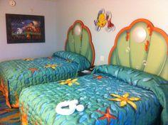 : Standard Little Mermaid Rooms at Disney Art of Animation ...