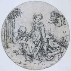 Aristoteles en Phyllis, Meester van het Amsterdamse Kabinet, 1483