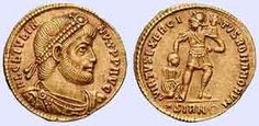"""Julian """"The Apostate"""" was the 63rd Roman Emperor from 361-363. A cousin of Constantius II, he was made Caesar of the west in 355 by Constantius II, although later the relationship between the two verged on war. After the death of Constantius II, he became the sole emperor, until he was killed in battle against the Persians. He was the last non-Christian ruler of the Roman Empire and attempted to revive the pagan religions, earning him the later nickname """"The Apostate."""""""