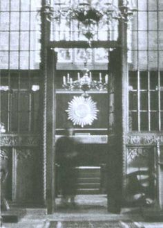 This ghost picture was taken in 1999 at Merseyside England inside Sefton Church. Sefton Church has a long history dating back to the 12th century. It isn't much of a surprise that there would be a ghost or two hanging around.
