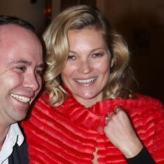 Kate Moss Flirts Her Way Through Paris