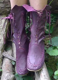 Gorgeous plum coloured leather ankle boots that add a touch of sparkle to any ladies wardrobe. Designed by skilled artisans at Gipsy Dharma, these beautiful rich and sexy ankle boots have been hand crafted to offer the very best in ladies fashion and design. Feel fabulous in these superb ladies ankle boots.