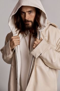 Jared Leto Stars in Fear of God's Sixth Collection Alongside Nike Collab Jared Leto, Street Girl, Street Style, Thirty Seconds To Mars, 30 Seconds, Grunge Guys, Look Man, Beautiful Blue Eyes, Gorgeous Men