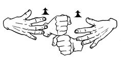 The sign for get in American Sign Language (ASL). Sign Language Basics, Sign Language Chart, Sign Language Phrases, Sign Language Alphabet, Learn Sign Language, Learn To Sign, America Sign, British Sign Language, Asl Signs