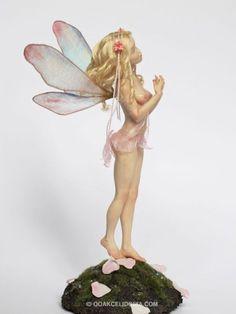 Sweetheart fairy OAAK fairy sculpture by Celidonia