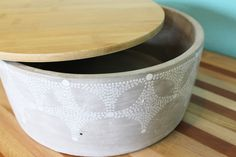 Stars Concrete Storage Container : Contain(er) Yourself by PivotHandmade on Etsy