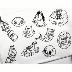Tattoo Design Drawings, Tattoo Sleeve Designs, Sleeve Tattoos, Dainty Tattoos, Small Tattoos, Cool Tattoos, Kritzelei Tattoo, Dark Tattoo, Basic Tattoos