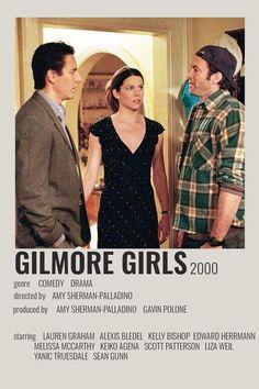 Gilmore Girls Poster, Watch Gilmore Girls, Rory Gilmore, Keiko Agena, Liza Weil, Girl Posters, Movie Posters, Scott Patterson, Amy Sherman Palladino