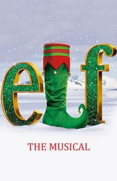 Elf the Musical, Madison Square Garden, NYC Show Poster