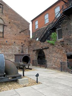 Tredegar Iron Works is a historic iron foundry in Richmond, Virginia, United States of America. The site is now the location of a museum called The American Civil War Center at Historic Tredegar.