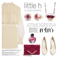 """""""Atmosfera retro by Little h Jewelry"""" by littlehjewelry ❤ liked on Polyvore featuring self-portrait, Balmain, Francesco Russo and La Regale"""