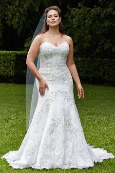 Plus Size Wedding Gown - Wtoo Curve Plus Brides Jolene Gown